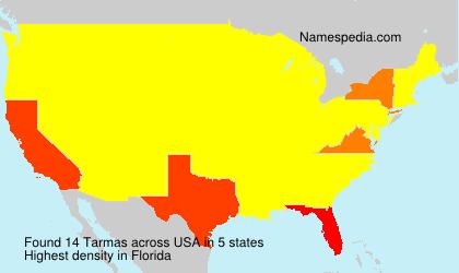 Surname Tarmas in USA