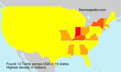 Surname Tarrie in USA