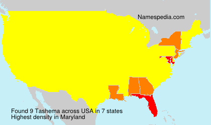 Tashema - Names Encyclopedia