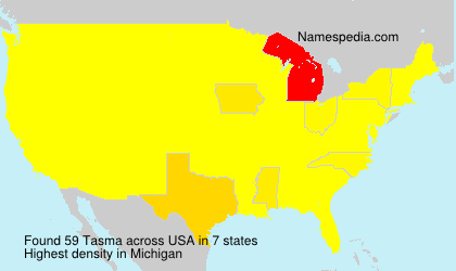 Surname Tasma in USA