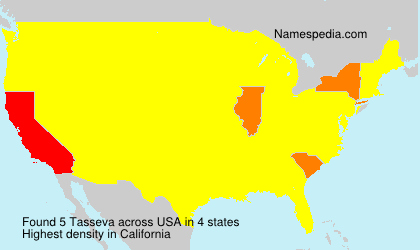 Surname Tasseva in USA