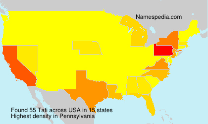 Surname Tati in USA