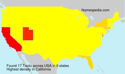 Tautu - USA