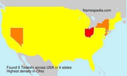 Surname Tedeshi in USA