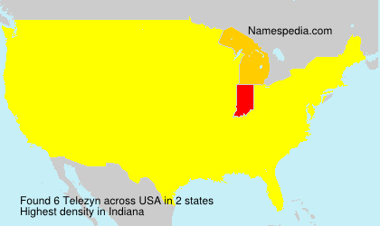 Surname Telezyn in USA