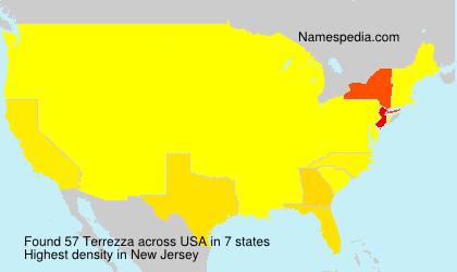 Surname Terrezza in USA