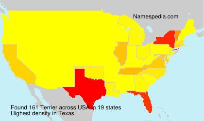 Familiennamen Terrier - USA