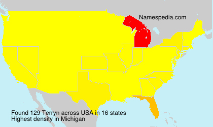 Surname Terryn in USA