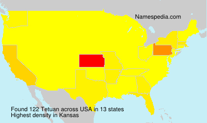 Surname Tetuan in USA
