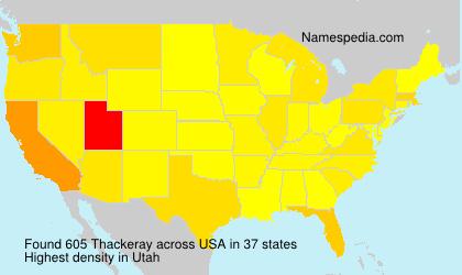 Thackeray - USA