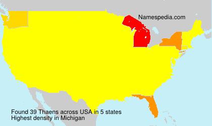 Thaens - USA
