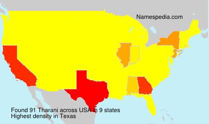 Surname Tharani in USA