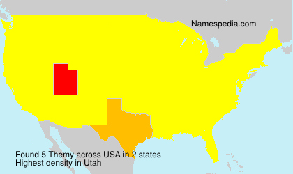 Surname Themy in USA