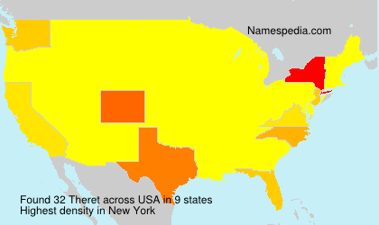 Surname Theret in USA