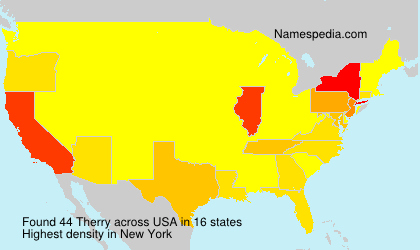 Surname Therry in USA