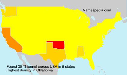 Thionnet - USA