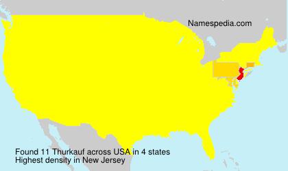 Surname Thurkauf in USA