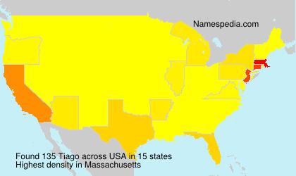 Familiennamen Tiago - USA