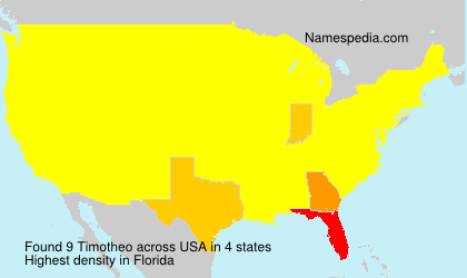 Surname Timotheo in USA