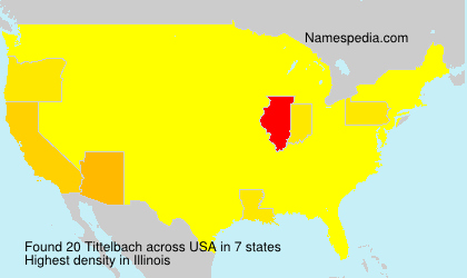 Surname Tittelbach in USA