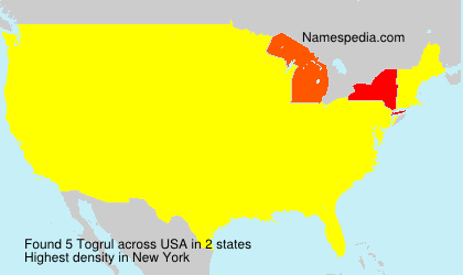 Surname Togrul in USA