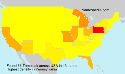 Surname Tomasiak in USA