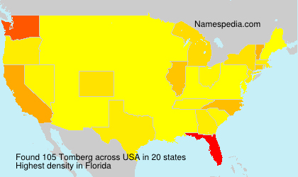 Surname Tomberg in USA