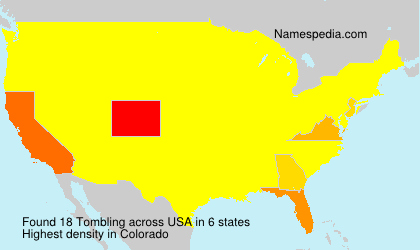 Surname Tombling in USA