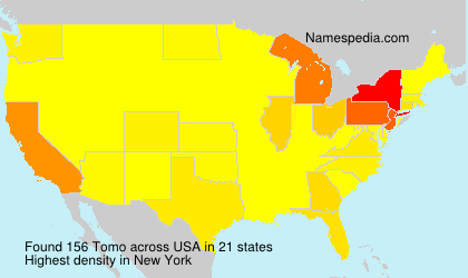 Surname Tomo in USA
