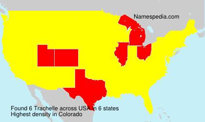 Familiennamen Trachelle - USA
