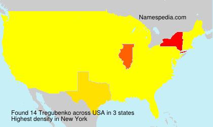 Surname Tregubenko in USA