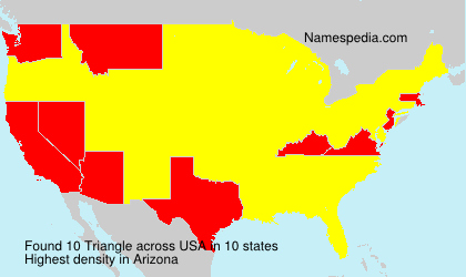 Surname Triangle in USA