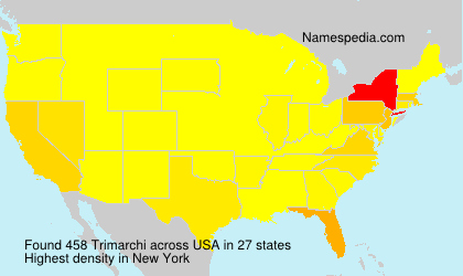 Surname Trimarchi in USA