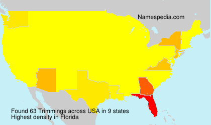 Surname Trimmings in USA