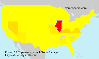 Surname Tripamer in USA