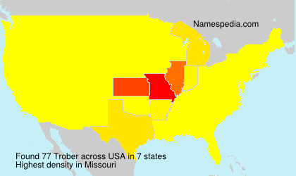 Surname Trober in USA