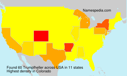 Surname Trumpfheller in USA