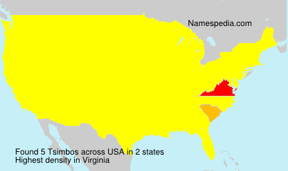 Surname Tsimbos in USA