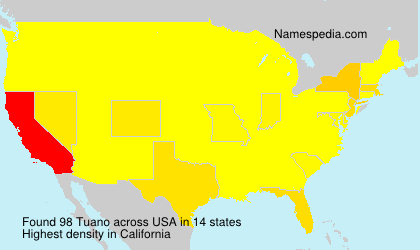 Surname Tuano in USA