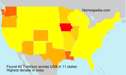 Surname Tumilson in USA
