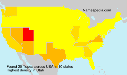 Surname Tupea in USA