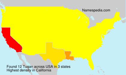 Familiennamen Tuqan - USA