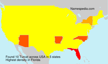Surname Turcat in USA
