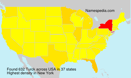 Surname Turck in USA