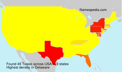 Surname Tussie in USA