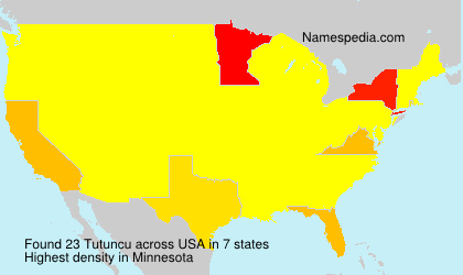 Surname Tutuncu in USA