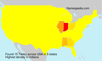 Surname Twiley in USA