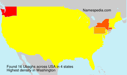 Surname Ubaghs in USA