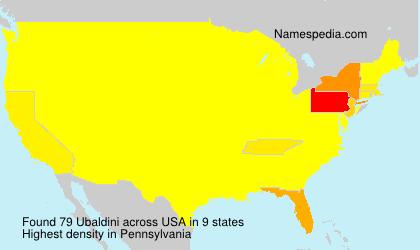 Ubaldini - USA