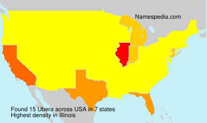 Surname Ubera in USA